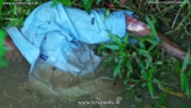 Unidentified body near the Rajagiriya bridge
