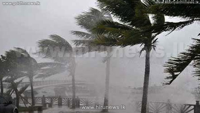 Cyclonic storm to cross eastern Sri Lanka