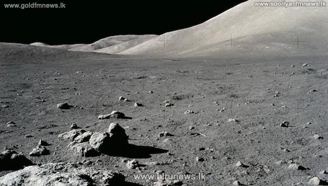 China land spacecraft on the moon's surface
