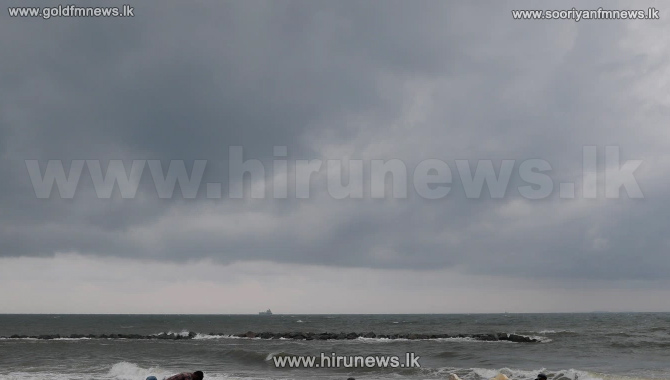 Cyclonic storm 'BUREVI' is now only 110 km east of Trincomalee