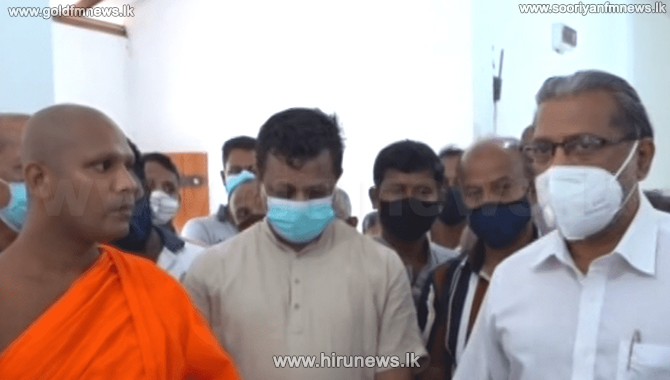 State Minister Vidura reprimands officials over destruction at Devanagala archeological site (Video)