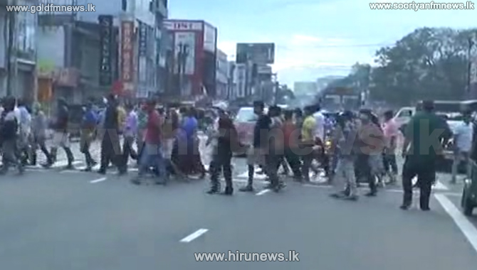 Maharagama traders restless today as well