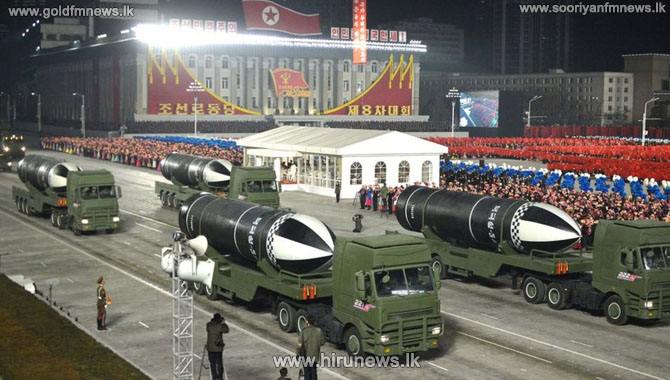 North Korea unveils new submarine-launched missile -