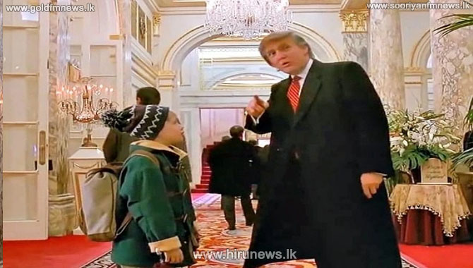 Remove Donald Trump from Home Alone 2 -  Kevin agrees