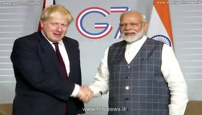 UK invites Indian PM Modi for G7 Summit