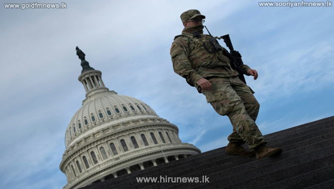 US capitol building lockdown - rehearsal for Joe Biden's inauguration suspended