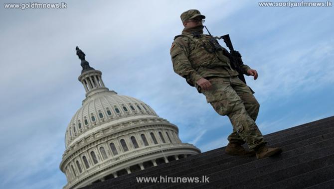 US capitol building lockdown - rehearsal for Joe Biden's inauguration suspended
