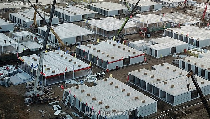 China building a massive Covid-19 quarantine camp for 4,000