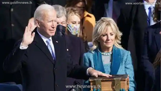 Joe Biden's inauguration speech - full transcript