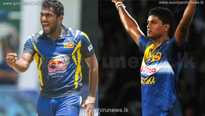Two Sri Lankan cricket players diagnosed with COVID