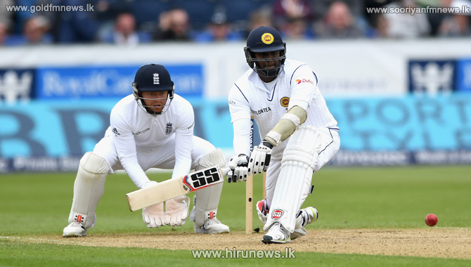 Angelo Mathews scores 100 in the second test against England