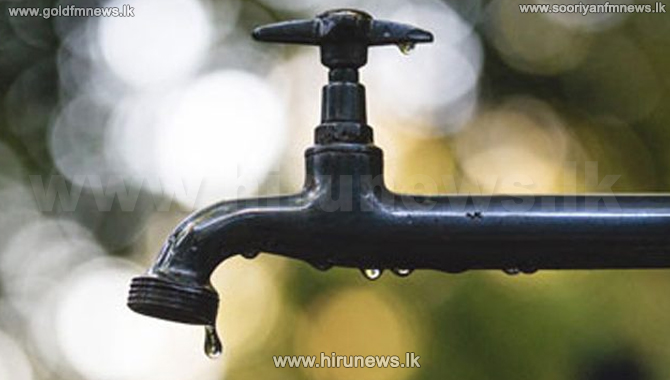 Water cut in several areas in Colombo today
