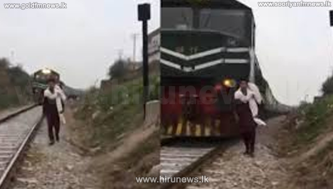 18 year old killed during TikTok video on train track in Pakistan