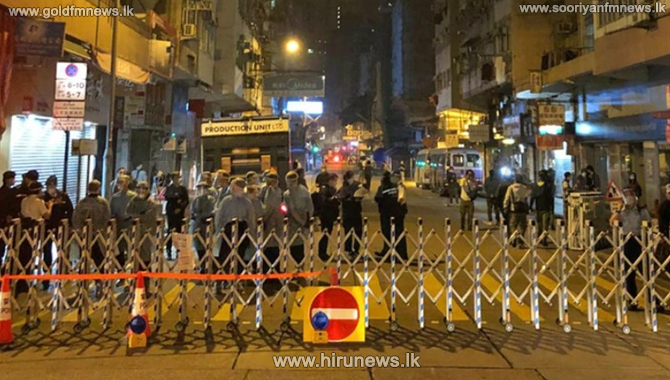 Hong Kong go in for lockdown for the first time