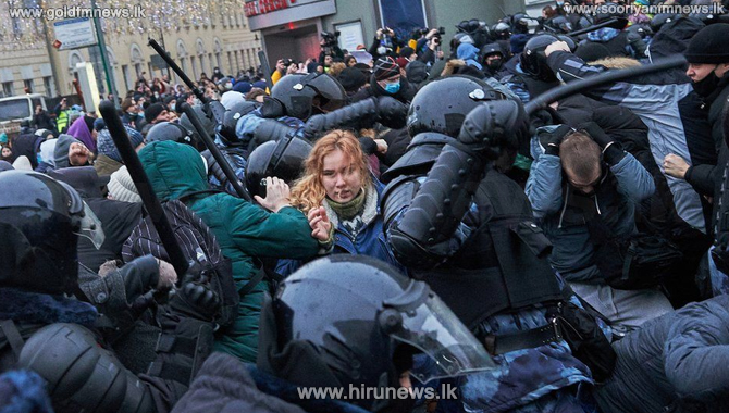 More than 3,000 arrested during Moscow protests