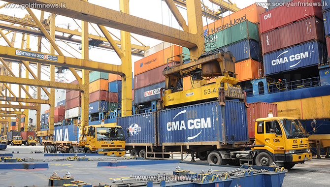Clearance payments of imported goods at Colombo Port online