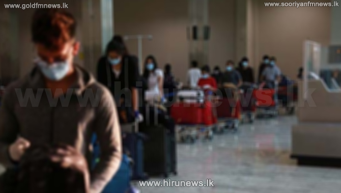 Airport active - 195 Sri Lankans arrive - 277 depart