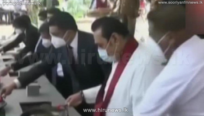 PM lays the foundation stone for 'Adikarana Piyasa' building complex (Video)