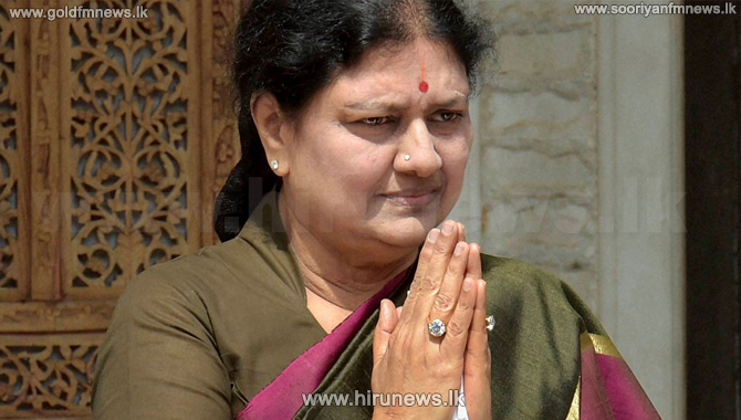 V.K. Sasikala released from jail