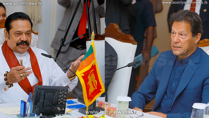 Prime+Minister+Mahinda+thanks+Prime+Minister+Imran+-+full+speech+%28Photos%29