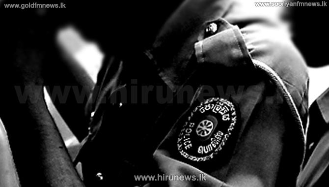 காவல்துறை பரிசோதகரை துப்பாக்கியால் சுட முயன்ற சார்ஜன்ட் கைது