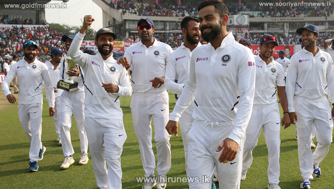 India leads in ICC Test World Championship