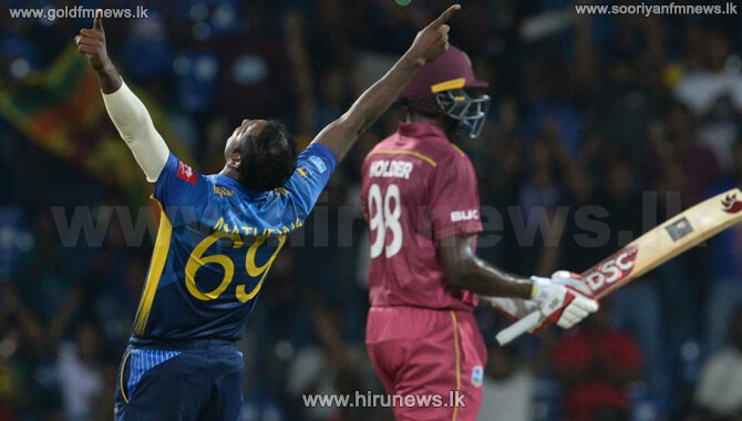 WI vs. SL 1st T20: Sri Lanka 131/9 (20) in Antigua