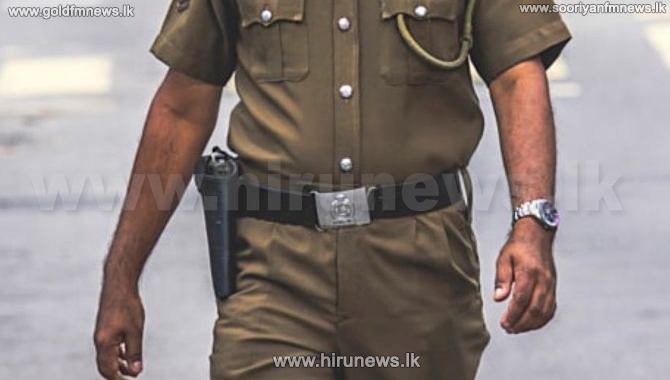Maharagama police sergeant arrested on bribery charges
