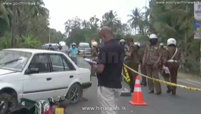 Person stabbed to death in Narammala