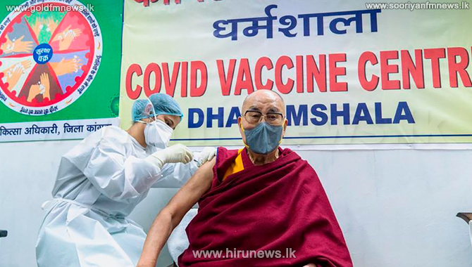 Dalai Lama urges people to get Covid vaccine after having first dose