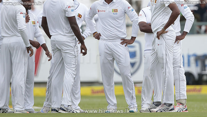 Sri Lanka squad for West Indies Test series announced