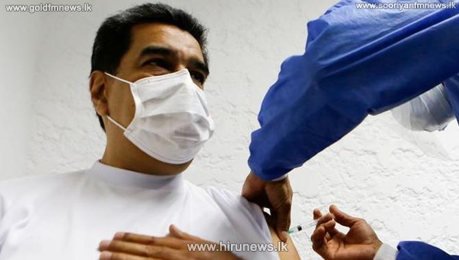 Venezuelan President receives COVID vaccines