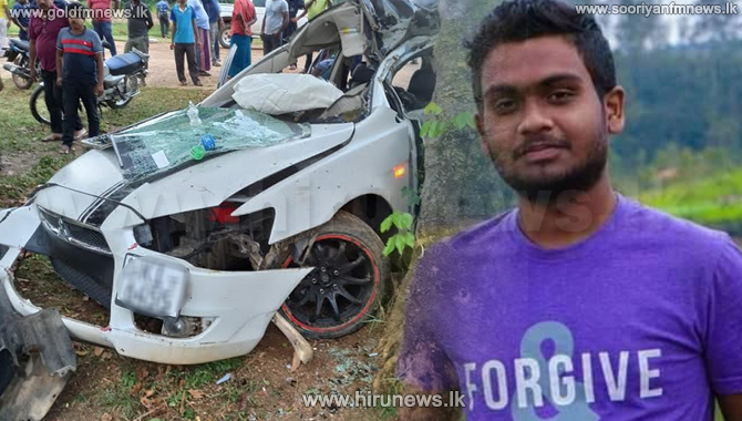 Fatal car accident in Pelwatta (Photos)