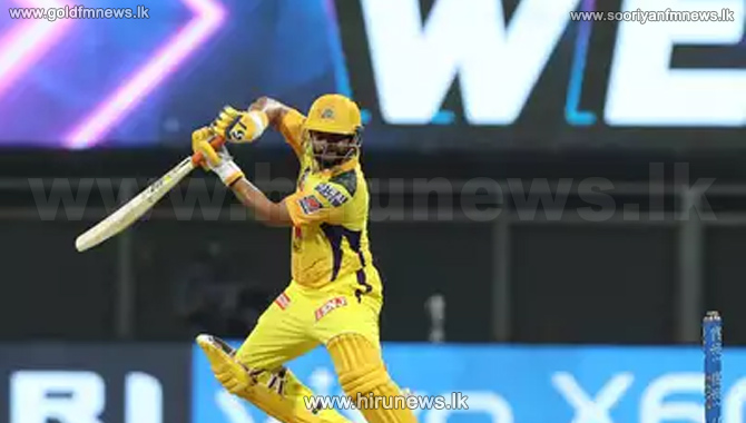 CSK score 188/7 -  MS Dhoni out for a two ball duck