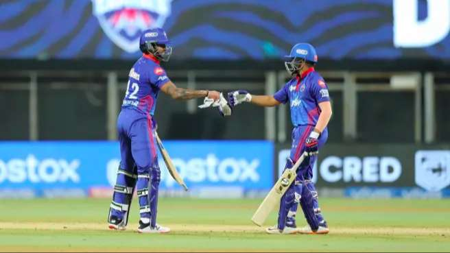 Delhi Capitals beat Chennai Super Kings by seven wickets