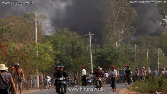 மியன்மாரில் இராணுவத்தினர் நடத்திய துப்பாக்கி சூட்டில் 80 பேர் பலி!