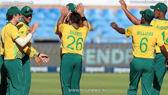South Africa's victory by 6 wickets