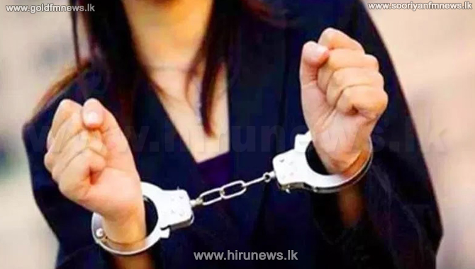 Woman arrested for smuggling drugs