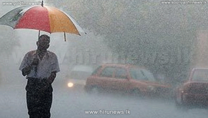 Heavy showers expected in many areas today