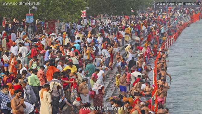 Hundreds test positive for Covid at Kumbh Mela including nine top saints in India