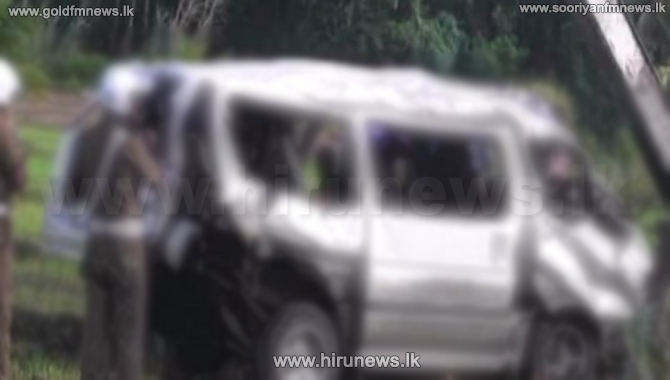 One killed after a van fell into a precipice in Badulla