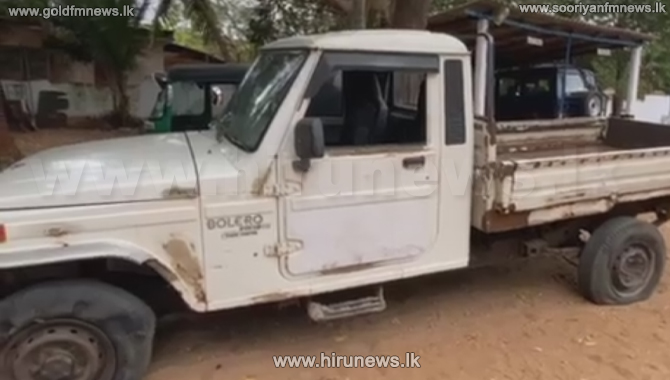 Cab that fled from STF officers in Point Pedro, apprehended (Video)