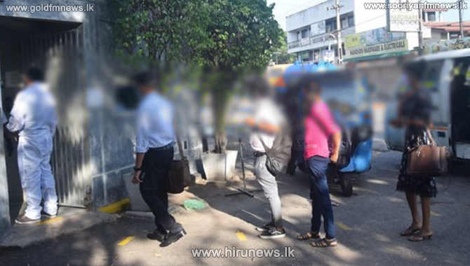 Increase in COVID cases reported surrounding Kurunegala garment factories