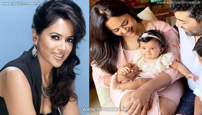 Sameera Reddy, husband and two children 6 & 2 years test positive