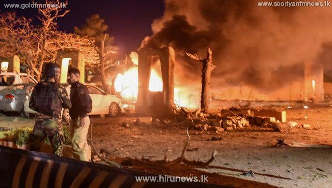 பாகிஸ்தான் விருந்தகம் ஒன்றில் குண்டுத் தாக்குதல் - 4 பேர் பலி; 12 பேர் காயம்