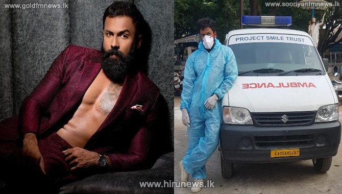 India: Actor Arjun Gowda turns ambulance driver to help people in need
