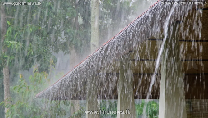 Heavy showers exceeding 100 mm in 6 provinces
