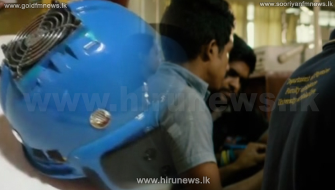 Helmet that fight against COVID-19 (Video)