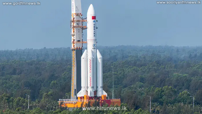 Close call for Sri Lanka - China's rocket remnants land southwest of SL in the Indian Ocean