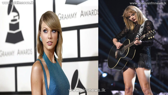 Taylor Swift the first female to be awarded the Global Icon prize at the BRIT awards